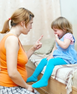 Woman-Berates-Crying-Child