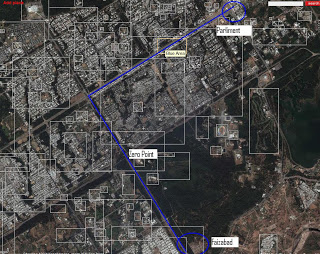 Long March Route - ISB