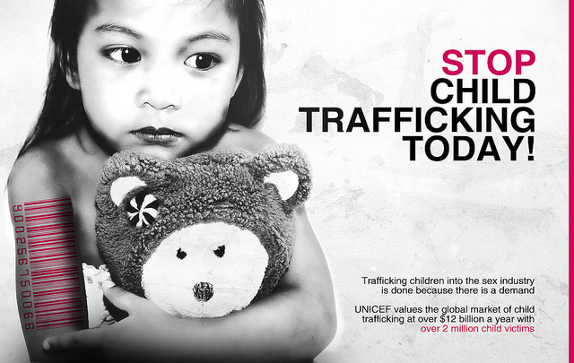 child sex trafficking why are 50 Trafficking of children (aka child labor and child exploitation) is a form of human trafficking and is defined as the recruitment, transportation, transfer, harboring, and/or receipt of a child for the purpose of slavery, forced labor and exploitation.